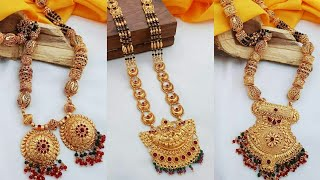 Latest 2019 Special Top Beautiful Gold Mangalsutra Designs