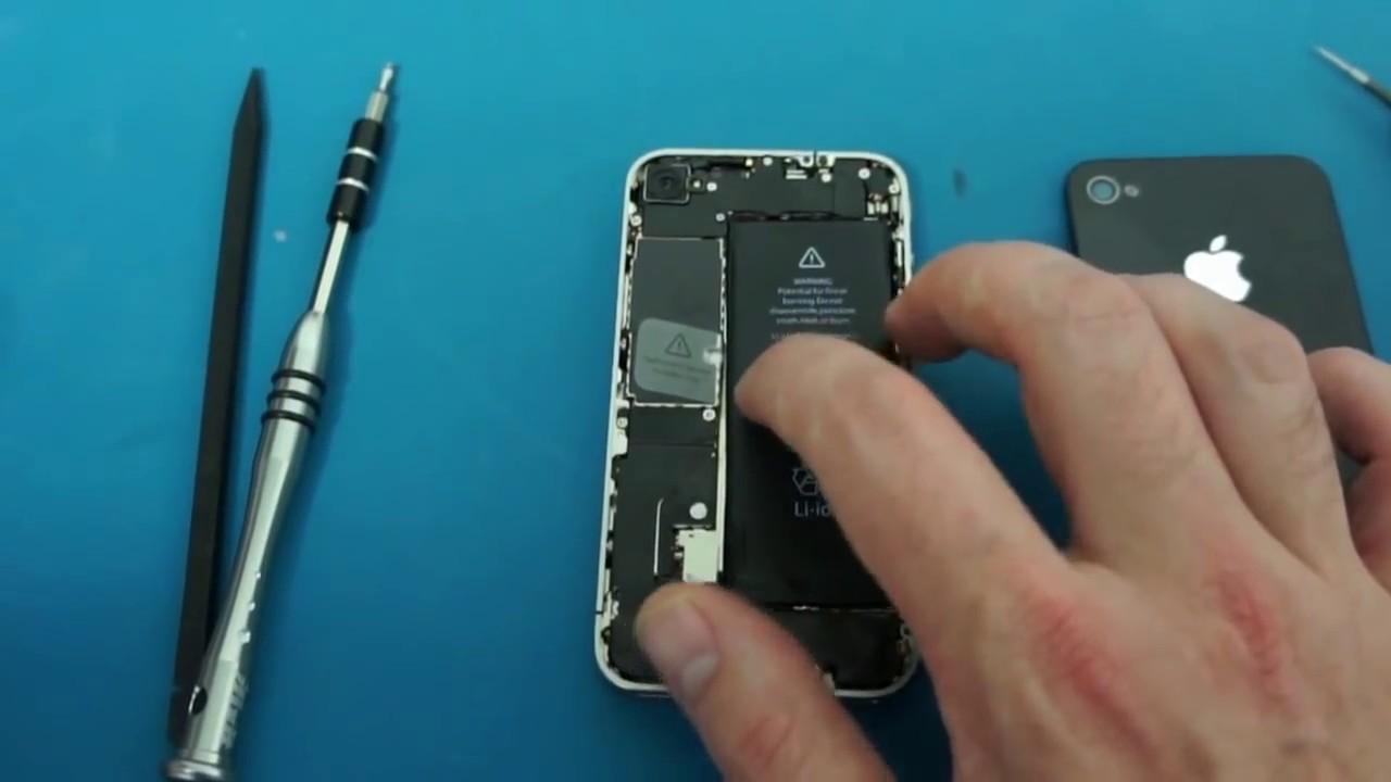 Remplacer La Batterie Iphone S