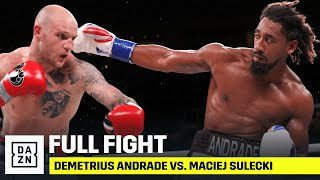 FULL FIGHT | Demetrius Andrade vs. Maciej Sulecki