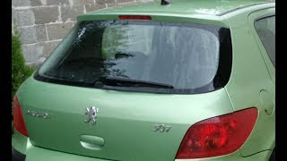 Peugeot 307 how to change rear lights