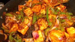 HOW TO MAKE CHILI CHEESE-CHILI PANEER DRY & GRAVY-RECIPE IN HINDI