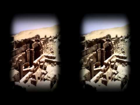Cairo Airport to camel back riding : Great Piramids & Sphinx 3D HD No Comment 02 Camera Libre
