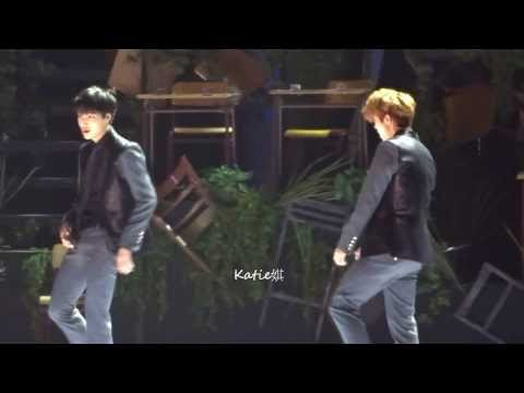 [fancam]131122 MAMA in Hong Kong Exo Kai Luhan Dance cut (Time Control)