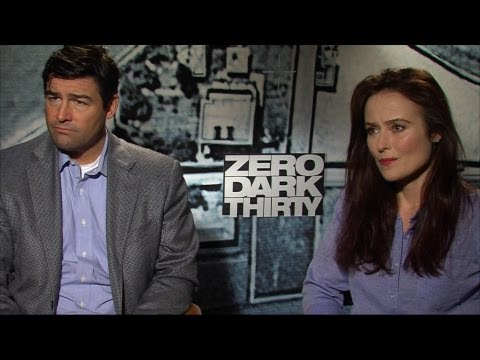 'Zero Dark Thirty' Kyle Chandler and Jennifer Ehle Interview