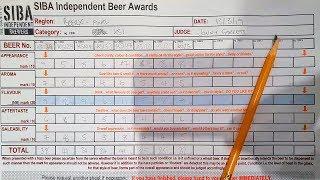 Beer Log: behind the scenes beer judging! | The Craft Beer Channel