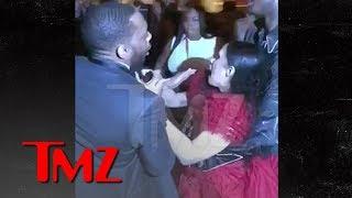 Cardi B Gets Lump on Head, Attacks Nicki Minaj, Throws Shoe, 'Calls Her P***y   TMZ