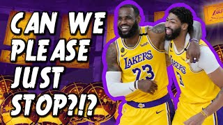 "STOP OVERREACTING! The Lakers ARE NOT In Trouble! [THE ""EXPERTS"" ARE WRONG!]"