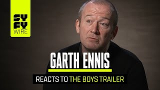 Garth Ennis Has Seen The Boys TV Show: Here's What He Think | SYFY WIRE