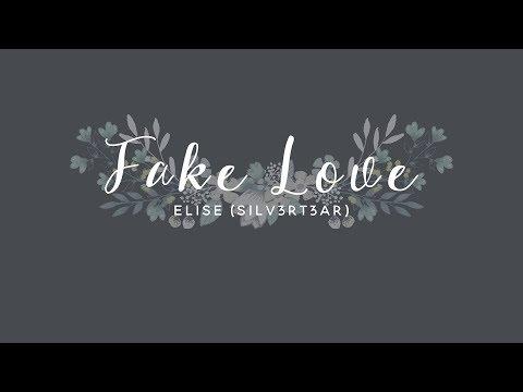 (Acoustic English Cover) BTS - Fake Love   Elise (Silv3rT3ar)