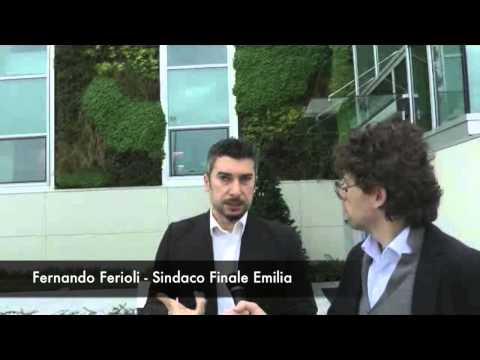 Inaugurazione Panaria  Ceramica - Il commento di Fernando Ferioli, Sindaco di Finale Emilia
