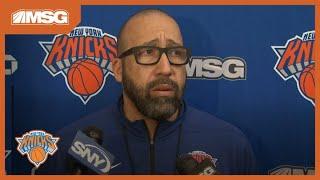 David Fizdale on the Knicks PG competition | New York Knicks