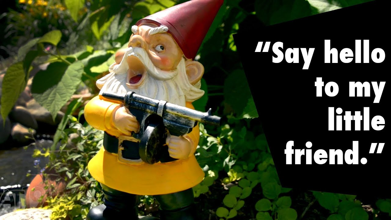 Gnome Garden: Angry Garden Gnome