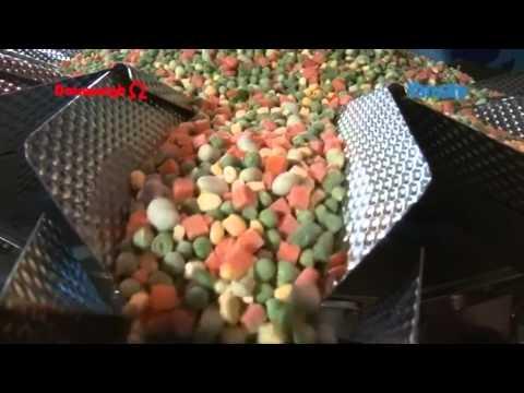 Mehrkopfwaagen für TK Produkte  / Multihead weigher for deep-frozen food