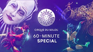 WHISK YOU AWAY TO LAS VEGAS! | 60-MINUTE SPECIAL #13 | CIRQUE DU SOLEIL | Mystère, O, KÀ