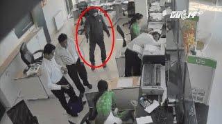 (VTC14)_Chân dung nghi phạm cướp 2 tỷ đồng ở ngân hàng Trà Vinh