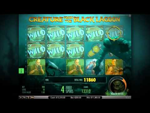Creature from the Black Lagoon™ - Net Entertainment