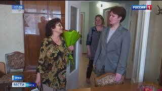 В Омске продолжает работать программа по переселению граждан из аварийного жилья