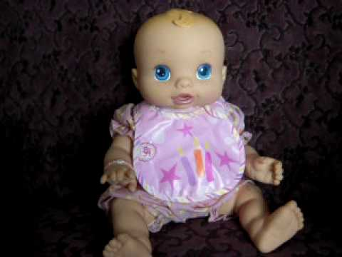 Hasbro Baby Alive Quot Wets N Wiggles Quot Doll Youtube