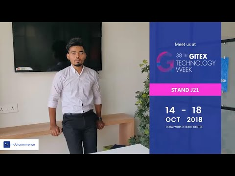 MobiCommerce is Exhibiting at GITEX 2018, Dubai