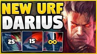 FIRST TIME DARIUS IN URF! (NEW URF MODE) HIGH-ELO DARIUS MAIN VS URF! - League of Legends