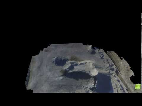 Stockpile 3D Model created from aerial images