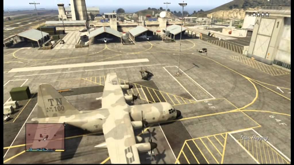 GTA 5: How to steel Titan - YouTube