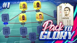THE BEGINNING!!! FIFA 19 PACK TO GLORY!!!! Episode 1 Prime Frank Lampard