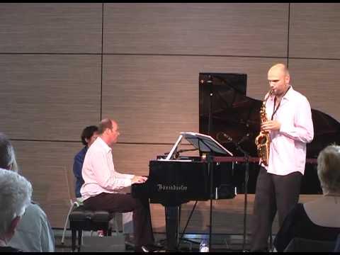 Ties Mellema/Hans Eijsackers play Martin Fondse - Roots, mvt 4