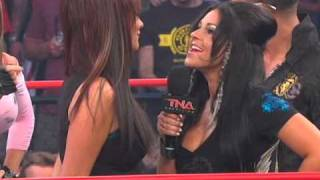 J-Woww From Jersey Shore On TNA iMPACT