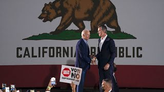 California holds recall election for governor