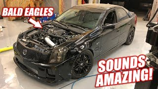 WE DROVE THE V! Supercharger Sounds UNREAL... Ended Up Breaking Down lol