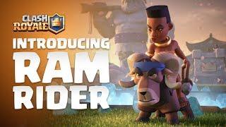 Clash Royale: Introducing Ram Rider! 🐏🌿💪🏾 (NEW LEGENDARY CARD)