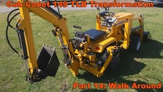 Cub Cadet 149 TLB Transformation Part 14 - Completed!