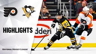 NHL Highlights | Flyers @ Penguins 10/29/19