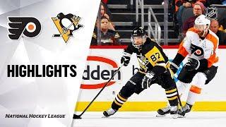 NHL Highlights | Flyers @ Penguins 10/29/19