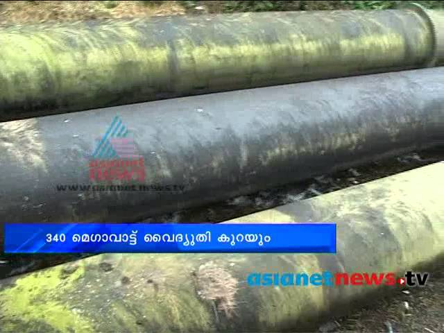 Maintenance in Sabarigiri hits generation of power