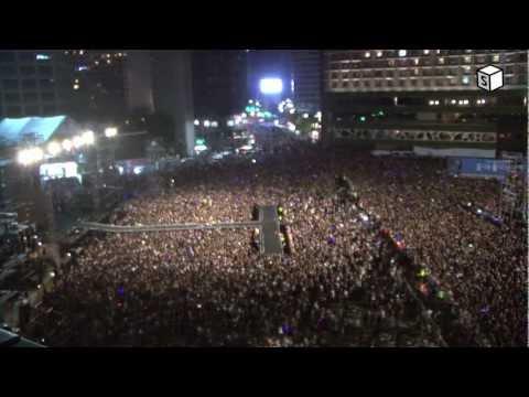 싸이 시청공연_강남스타일 떼창_Psy Gangnam Style Seoul Concert for Fans