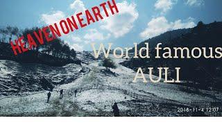//Auli, Joshimath Uttarakhand //   #Heaven on earth#