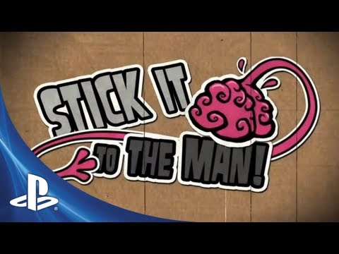Stick it to the Man | PS Vita Trailer