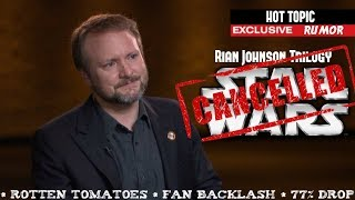 Rian Johnson Trilogy Cancelled from Star Wars The Last Jedi Backlash Rumor on HOT TOPIC