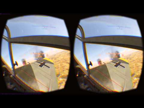 War Thunder Oculus Rift DK2 Gameplay (Update 1.41.29.50)