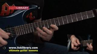 Zakk Wylde Style - Quick Licks - Guitar Solo Performance by Andy James