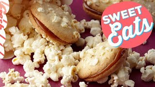 Popcorn Sandwich Cookies | Food Network
