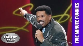 Steve Harvey⎢What They Need To Stop Doing At Church⎢Shaq's Five Minute Funnies⎢Comedy Shaq