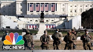 National Guard Deployed To State Capitols Ahead of Inauguration Day   NBC Nightly News