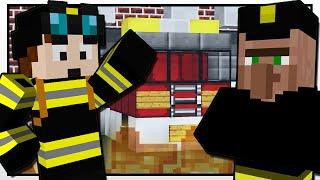 Minecraft   THE FIREFIGHTER MISSION!!   Custom Mod Adventure