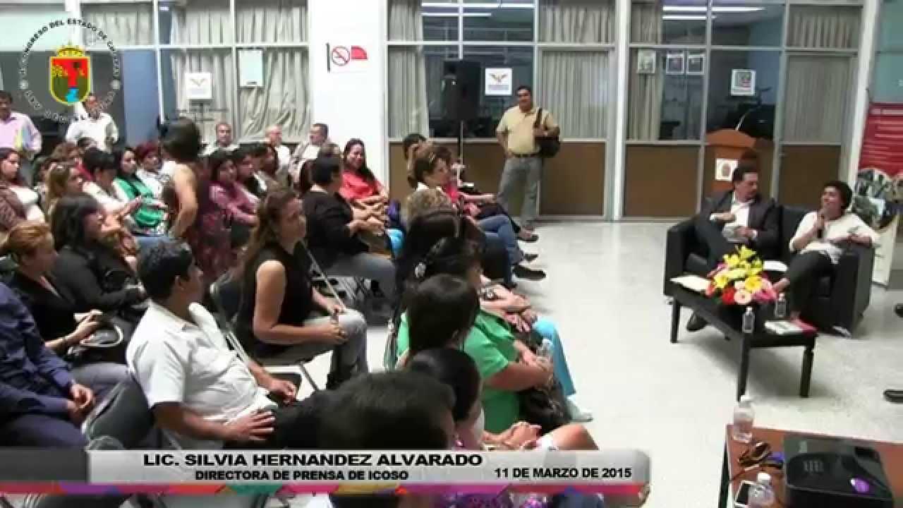 """Conversatorio """"Reformas Política con Visión de Género"""" 11 de Marzo de 2015"""