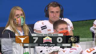 NCAAF Valero Alamo Bowl - Texas Longhorns vs Colorado Buffaloes