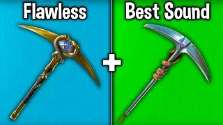 10 BEST PICKAXES OF ALL TIME in FORTNITE! (Best Harvesting Tools)