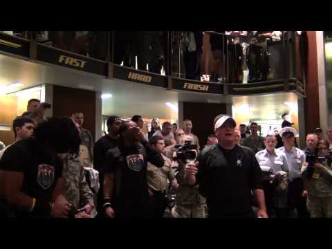 Chip Kelly moto speech for the troops - YouTube